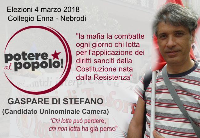 foto Potere al Popolo Enna - Gaspare Di Stefano