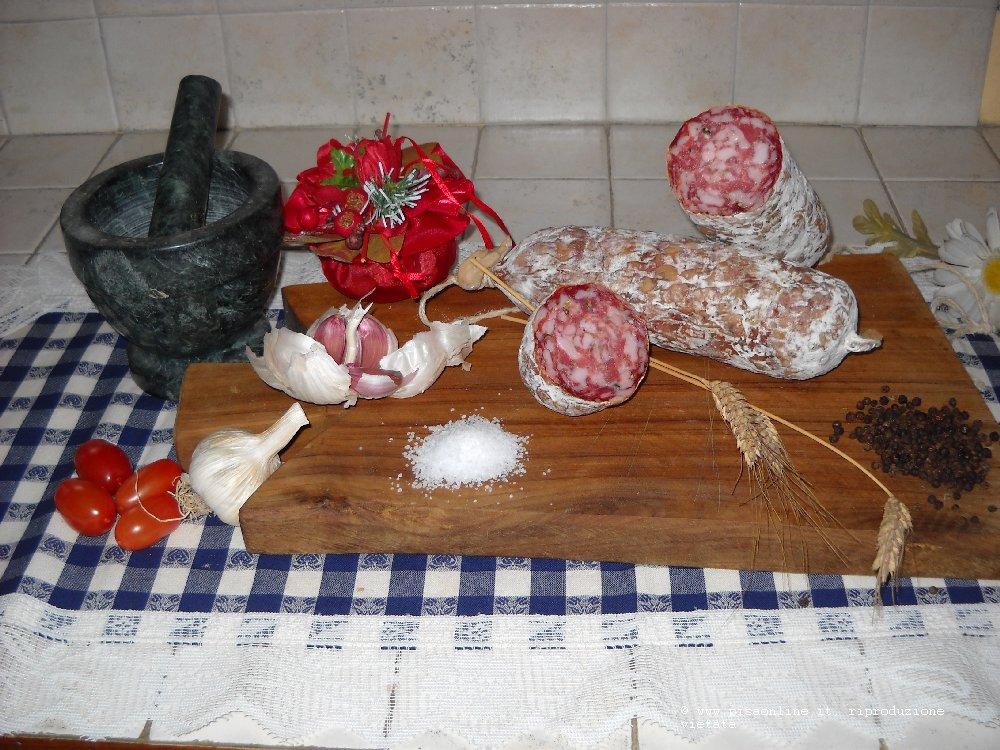 Salamino_500 Tutto Toscano Salumi