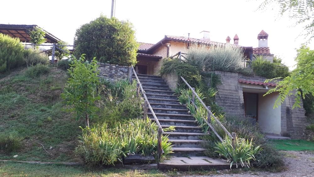ingresso Ristorante La Capannina sul lago